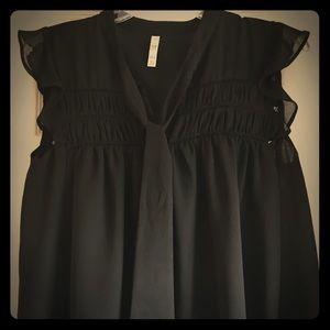 Edgy Zara TRF babydoll top! 🥀